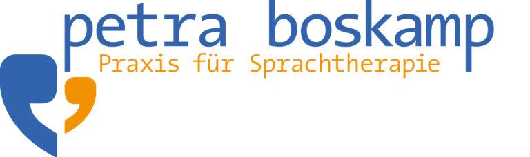 Praxis Boskamp sprachtherapie logo margate MARGATE - Agentur für Werbung