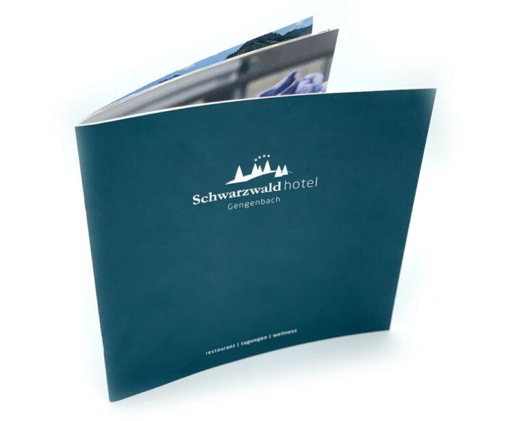 Schwarzwaldhotel Imagebroschüre margate MARGATE - Agentur für Werbung