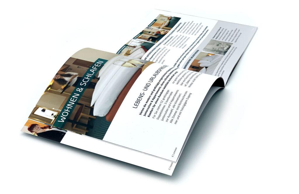 Schwarzwaldhotel Imagebroschüre margate2 MARGATE - Agentur für Werbung