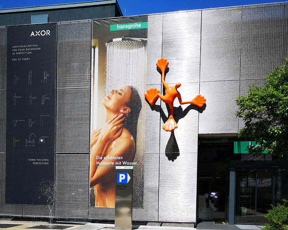 hansgrohe aquademie banner margate MARGATE - Agentur für Werbung