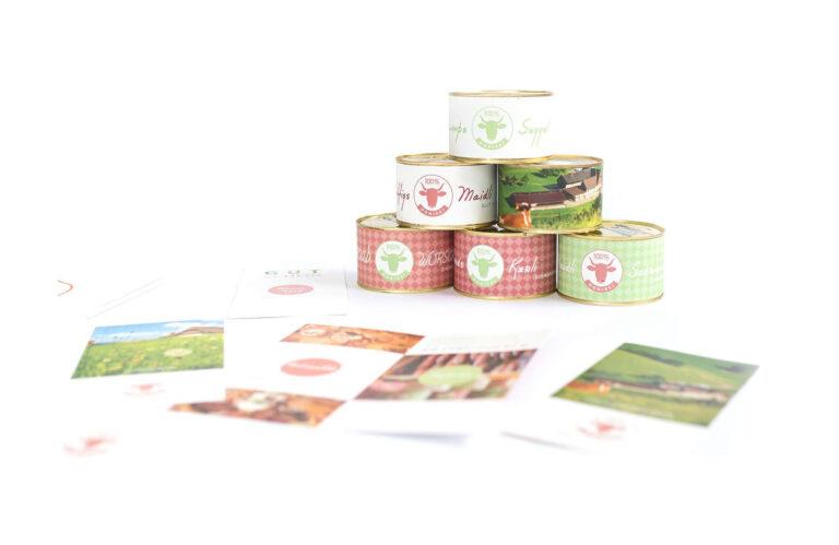 Danisenhof Verpackung Etiket margate