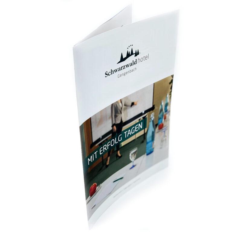 Schwarzwaldhotel Tagungsflyer margate MARGATE - Agentur für Werbung