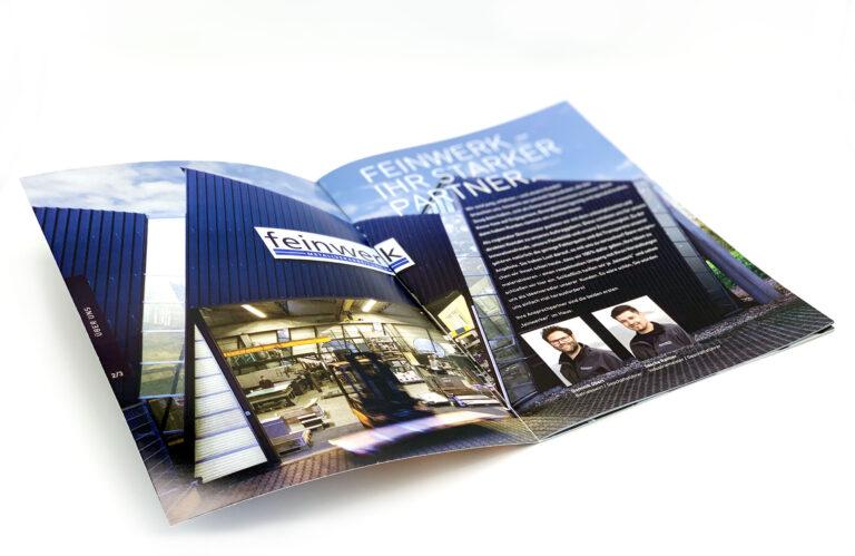 feinwerk Imagebroschüre margate2 MARGATE - Agentur für Werbung