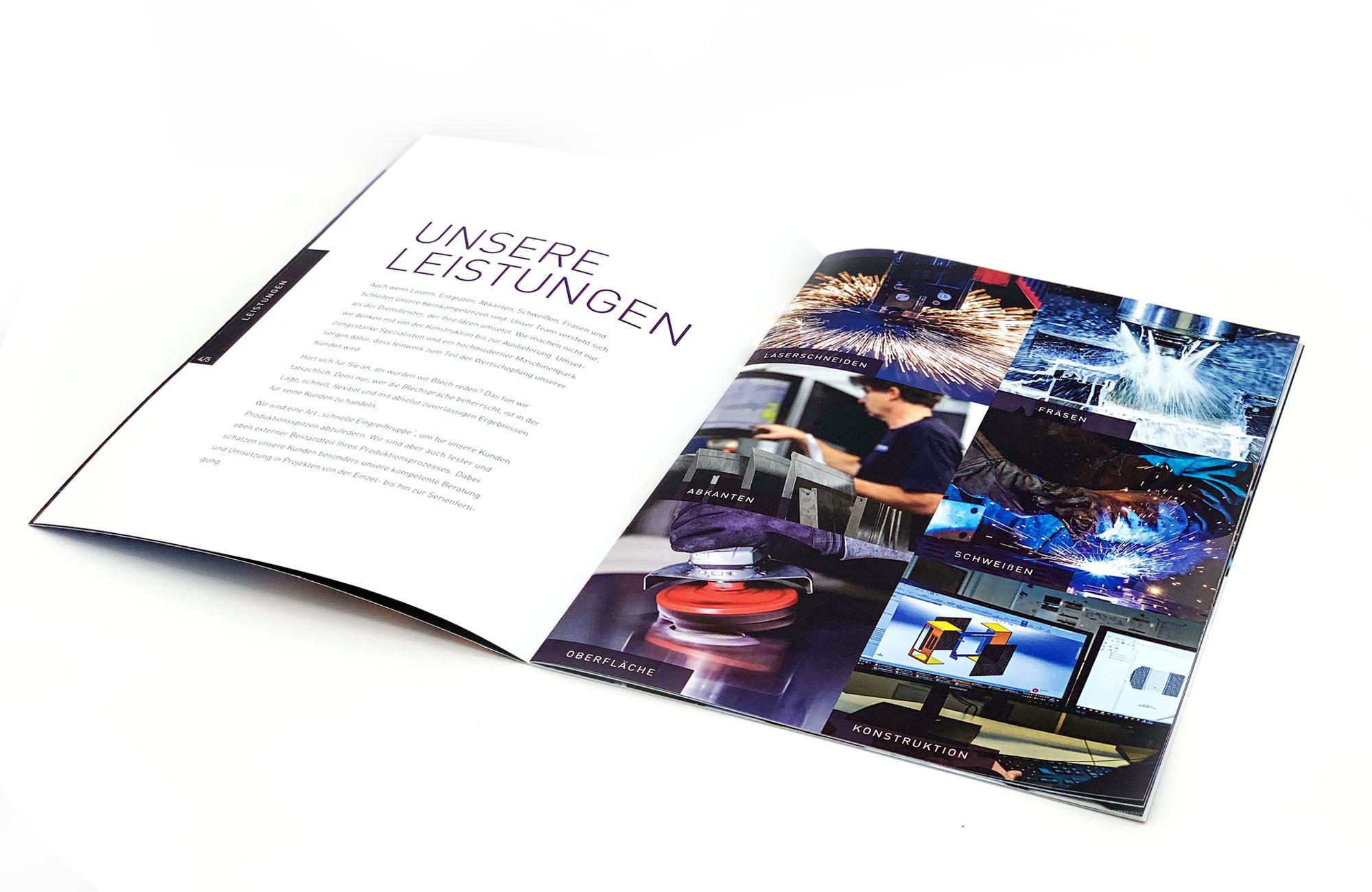 feinwerk Imagebroschüre margate5 MARGATE - Agentur für Werbung