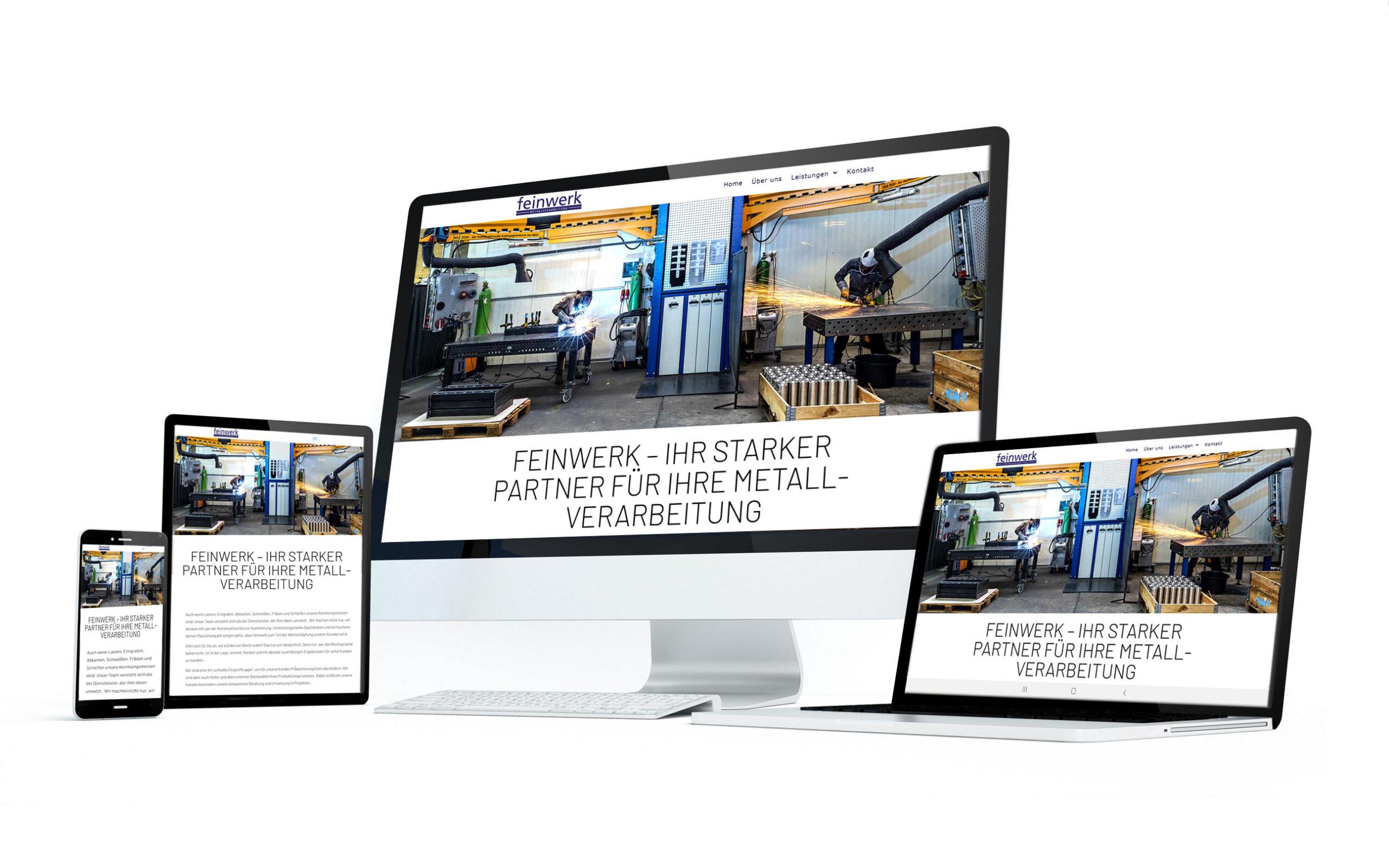 feinwerk Website margate scaled MARGATE - Agentur für Werbung