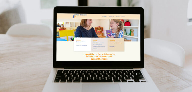 Praxis Boskamp sprachtherapie Header margate MARGATE - Agentur für Werbung