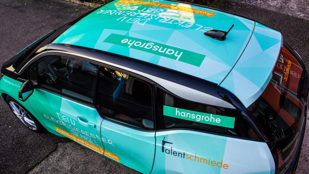 hansgrohe fahrzeugbeschriftung3 margate MARGATE - Agentur für Werbung